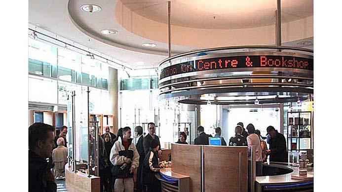 architekt infocenter europ ische zentralbank ezb frankfurt. Black Bedroom Furniture Sets. Home Design Ideas